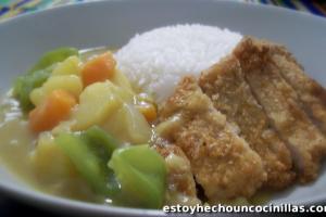 Receta de carne empanada con curry japonés (カツカレー – katsukaree)