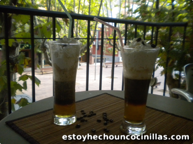 Receta de Café Irlandés Tricolor (Irish coffee)