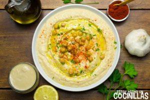 Hummus (crema de garbanzos)