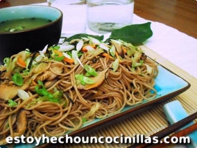 Yakisoba con verduras (野菜焼きそば – Yasai Yakisoba)