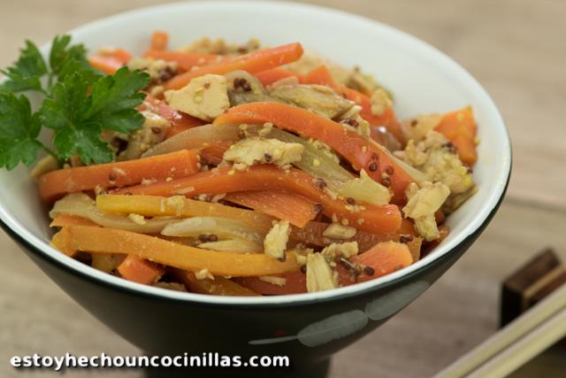 Recetas Cocina Japonesa | Receta De Ensalada De Zanahoria Y Atun Cocina Japonesa
