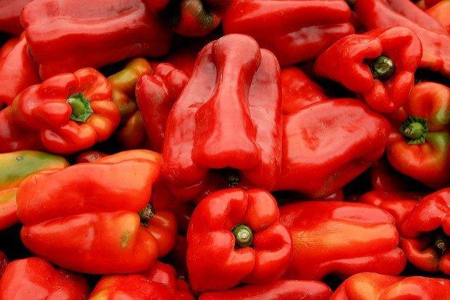 Pimientos rojos (flickr.com)