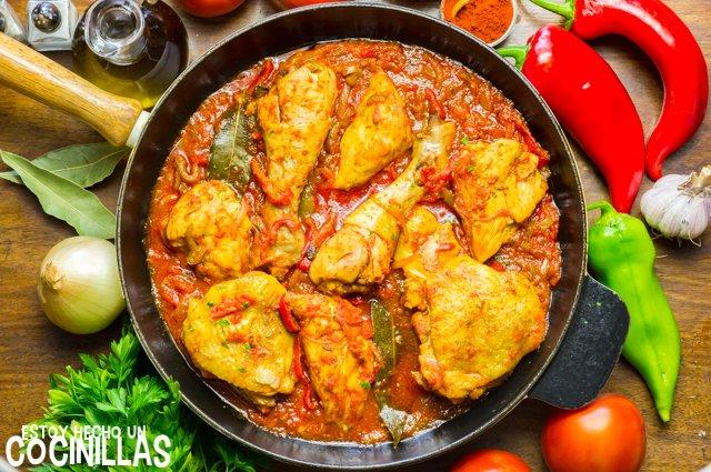 Pollo al chilindrón (receta)