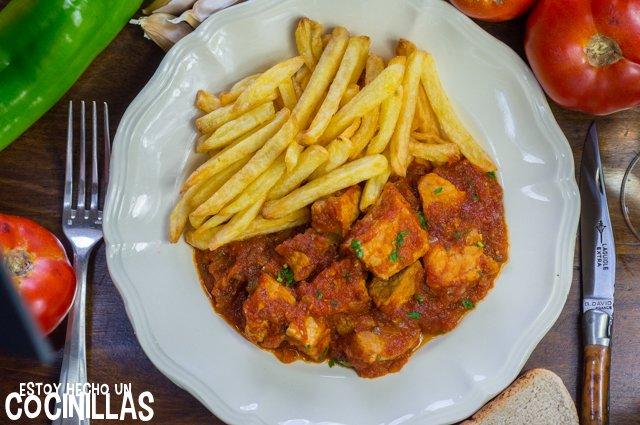 Magro con tomate (carne con tomate)