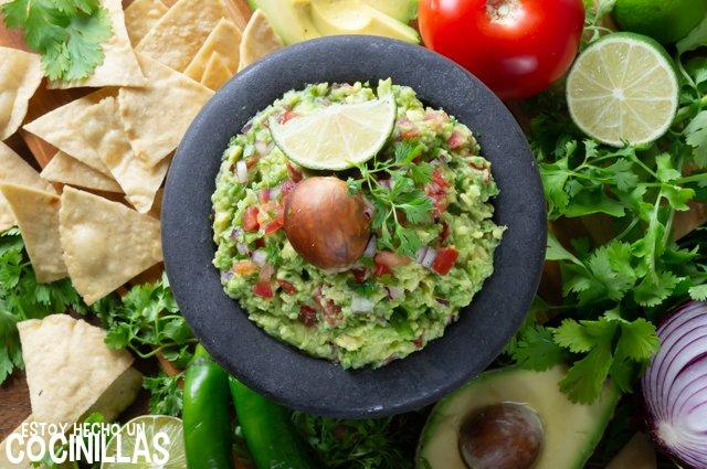 Cómo hacer guacamole (receta original)