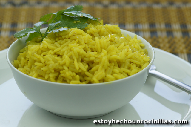 Receta de arroz al curry for Como cocinar arroz