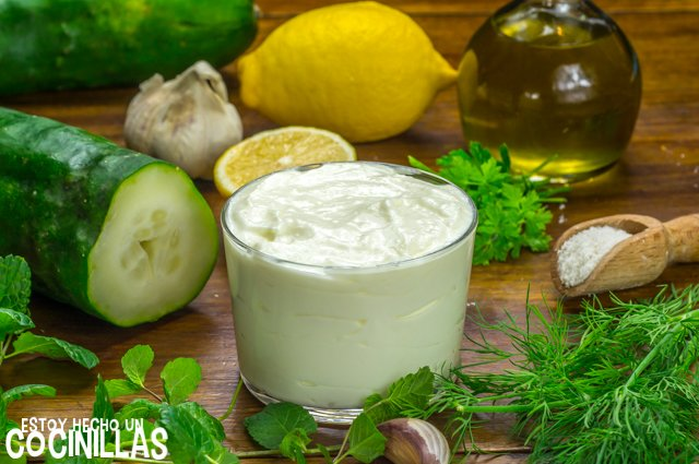Tzatziki (ingredientes)