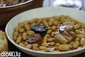 Receta de fabada asturiana fácil. Cocina tradicional
