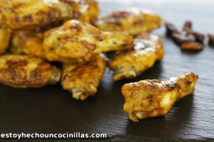 Alitas de pollo al horno picantes (tex-mex)