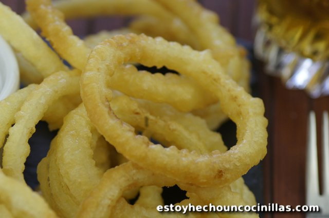 Aros de cebolla (receta fácil)