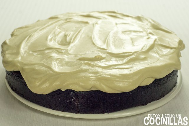 Tarta Guinness decorada