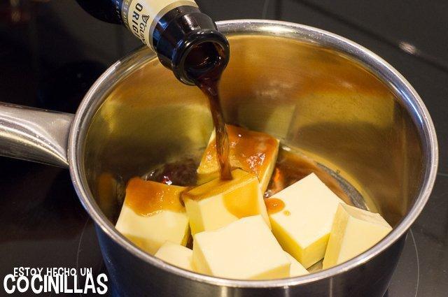 Tarta Guinness (derretir la mantequilla con la cerveza)
