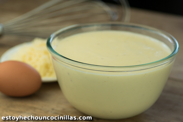 cómo preparar la salsa Mornay