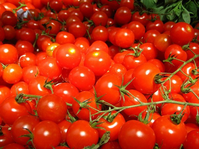Tomates cereza