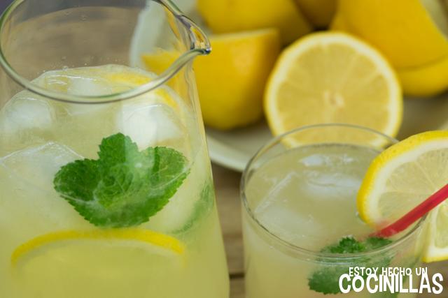 limonada a la menta
