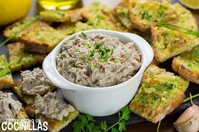 Paté de sardinas