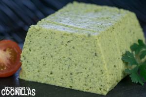 pastel de calabacín