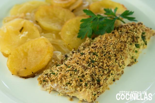 Receta de filetes de pescadilla a la bordelesa Cocina francesa