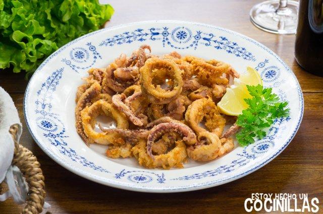 Calamares fritos a la andaluza