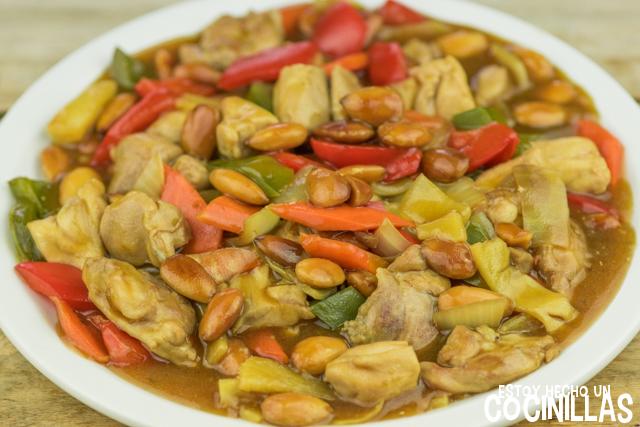 Receta de pollo con almendras al estilo chino for Cuisine un chinois