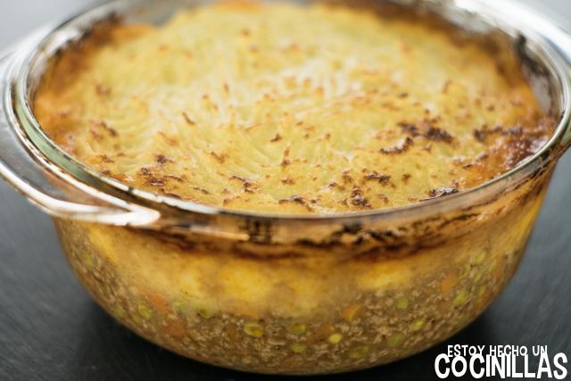 Shepherd's pie (pastel de carne)