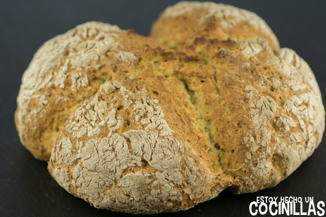 Pan de soda (soda bread)