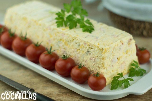 Pastel de merluza y salmón (pastel de pescado)
