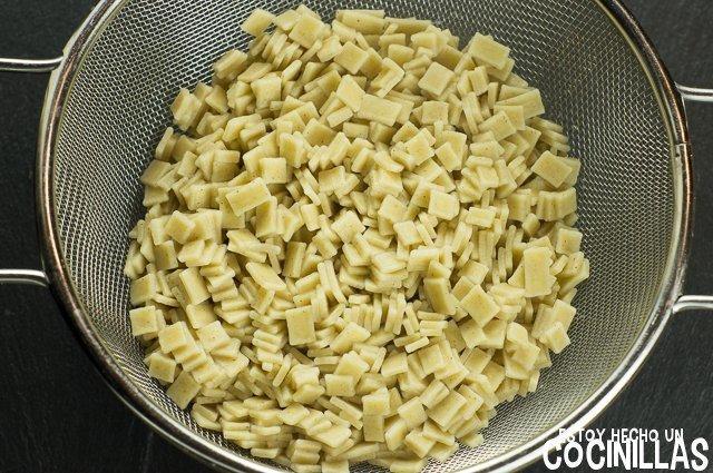 Croziflette (crozets cocidos)