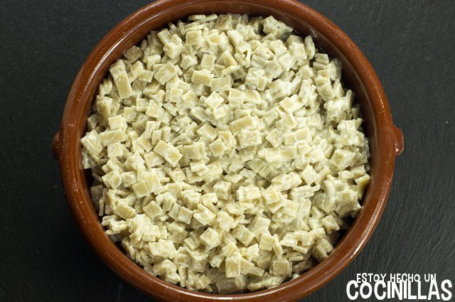 Croziflette (montaje - crozets)