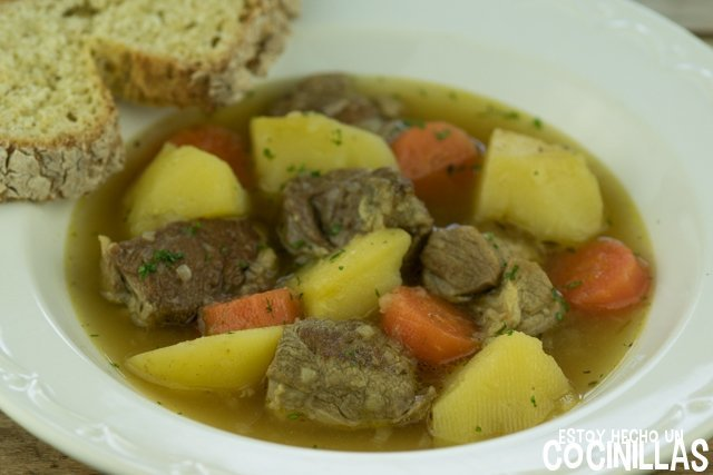 Estofado irlandés (irish stew)