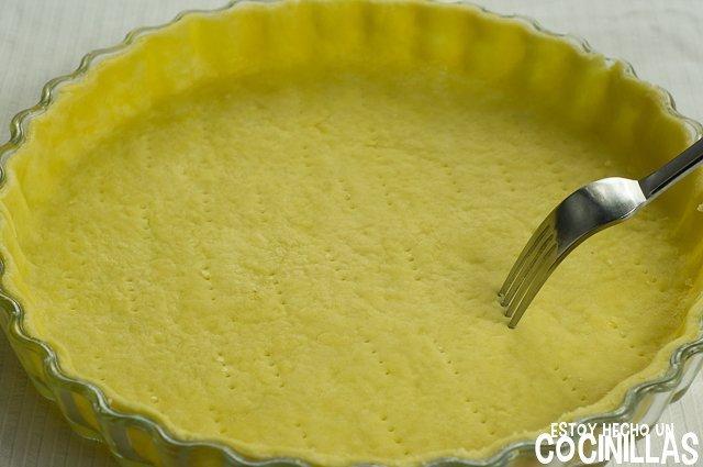 Masa quebrada de aceite de oliva (tenedor)