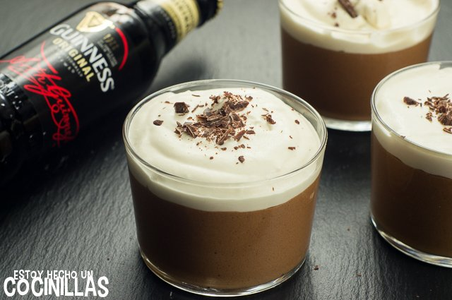 Mousse de chocolate y Guinness