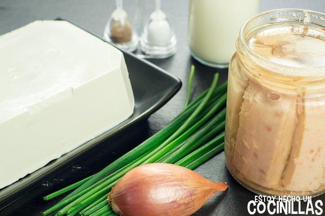 Crema de atún para untar (ingredientes)