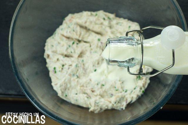Crema de atún para untar (nata)
