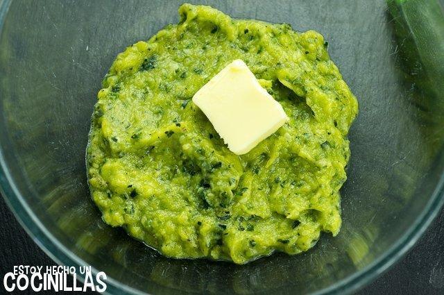 Puré de calabacín (mantequilla)