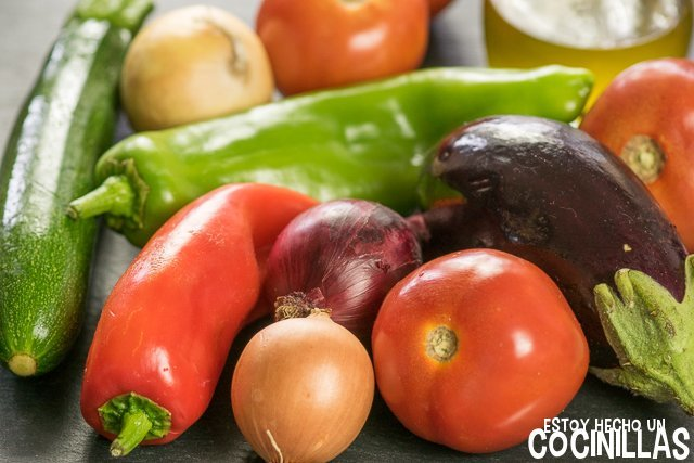Pisto de verduras (ingredientes)