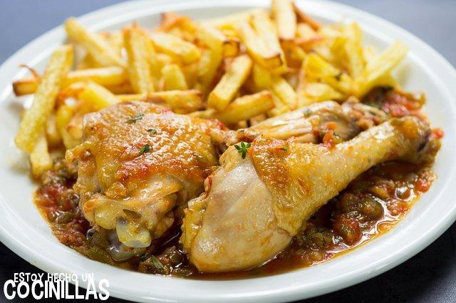 Pollo en salsa (ingredientes)
