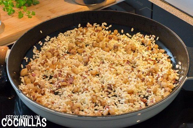 Risotto de panceta (arroz)
