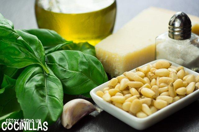 Salsa pesto (ingredientes)