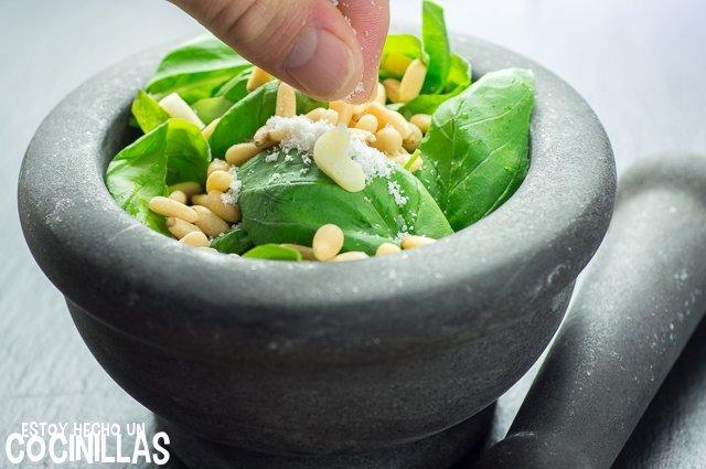Salsa pesto (sal)