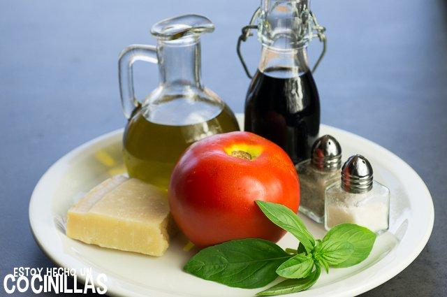 Carpaccio de tomate (ingredientes)