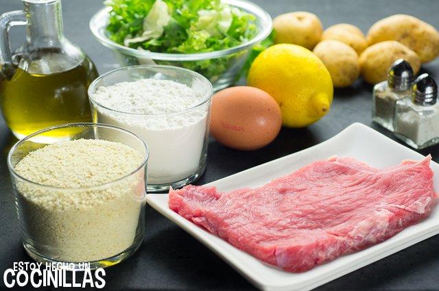 Schnitzel (ingredientes)