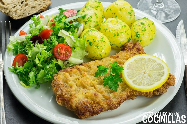 Schnitzel o escalope vienés