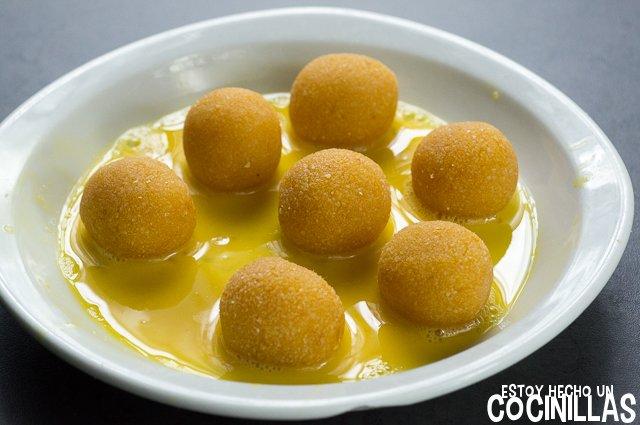 Panellets de boniato (huevo batido)