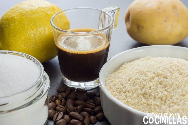 Panellets de café (ingredientes)