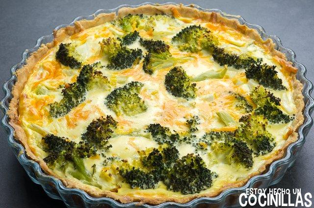 Quiche de brócoli (reposo)