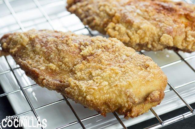 Pollo al limón estilo chino (fritura)