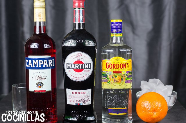 Coctel Negroni (ingredientes)