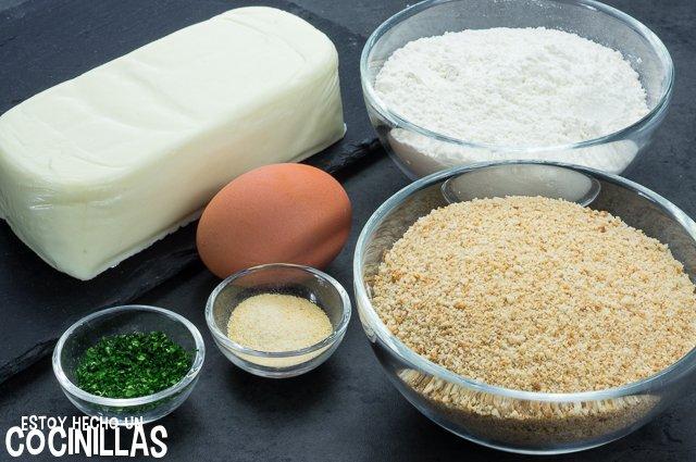 Fingers de queso (ingredientes)