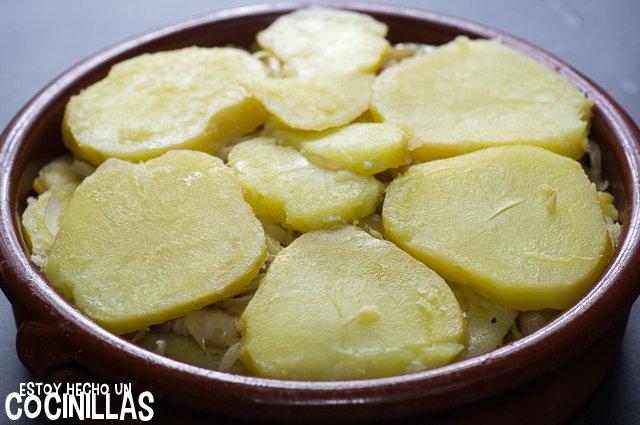 Morbiflette (última capa de patatas)